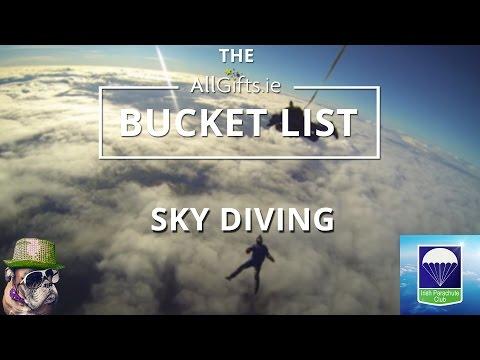 AllGifts.ie Bucket List - Irish Parachute Club   Setanta Sports