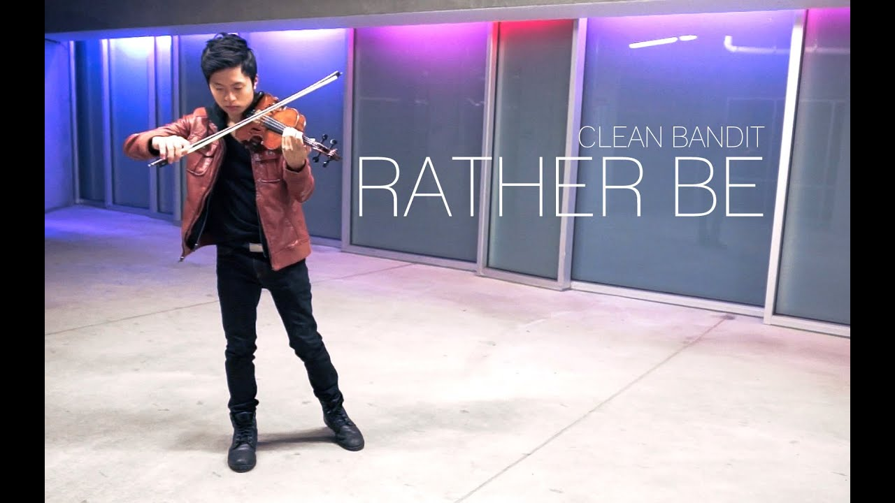 Rather Be - Clean Bandit - Violin Cover - Daniel Jang ...