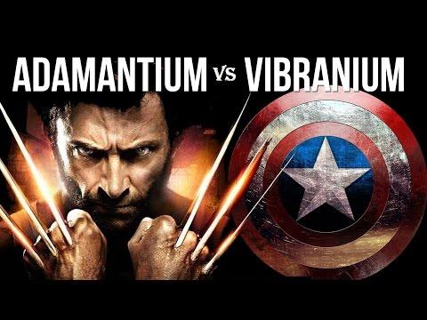 Adamantium vs Vibranium /Garras de wolverine vs Escudo del cap\