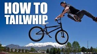 How to tailwhip BMX (Как сделать тейлвип на бмх, mtb) | Школа BMX Online #18