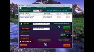 Hide MacAddress get IP(DzMacAddress) تغيير الماك أدرس