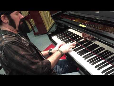NAMM 2016 Eric Levy at Seiler pianos