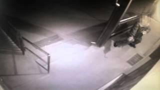 Videón a betörő