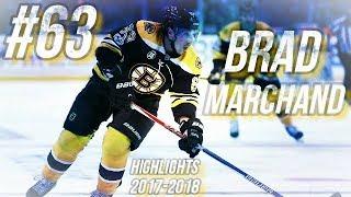 BRAD MARCHAND HIGHLIGHTS 17-18 [HD]