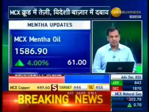 Sell Nickel with a target of INR 810- Mr. Anuj Gupta, Zee Business, 7th November