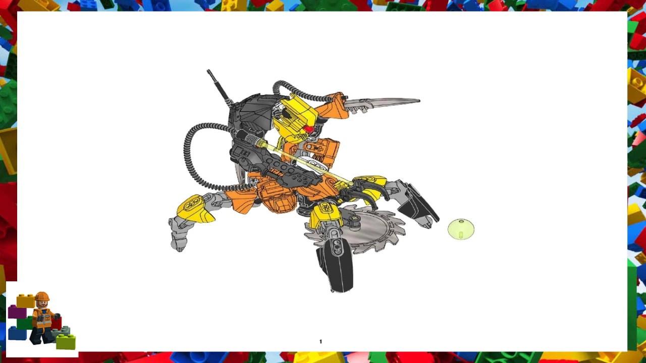 Lego Instructions Hero Factory 6221 Nex 6229 Xt4 Youtube