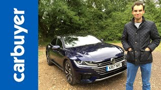 volkswagen arteon review is vw s latest four door coupe style over substance carbuyer
