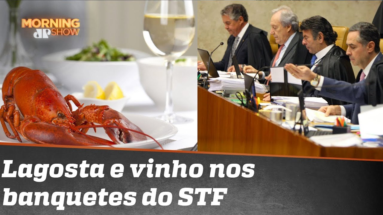 Resultado de imagem para lagosta do stf