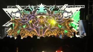 (Part-2) Sonic Bloom 2014 -Tipper & Android Jones, Psychedelic Hiphop, Trippy Visuals Festival