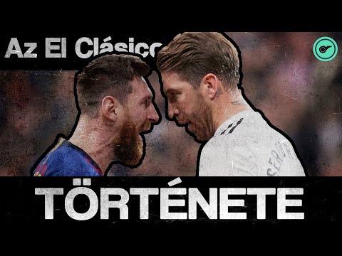 Real Madrid vs FC Barcelona - Az El Clásico története! | Félidő! thumbnail