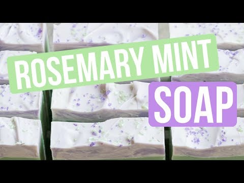 Rosemary Mint Soap that I DIDN'T DESIGN   Royalty Soaps