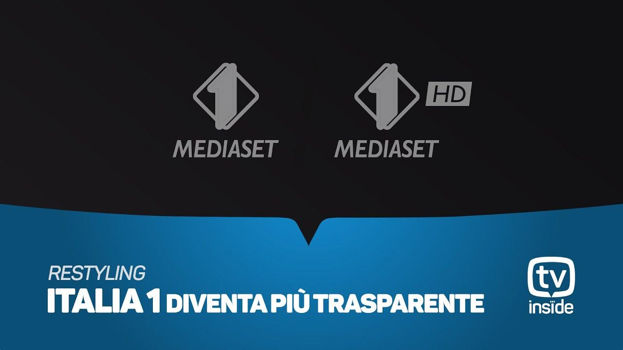 Restyling mediaset 2018 cambio logo italia 1 youtube for Be italia