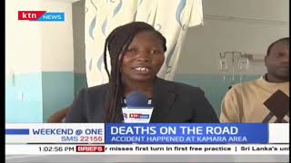 9 People die and several others injured in a grisly road accident at Kamara area
