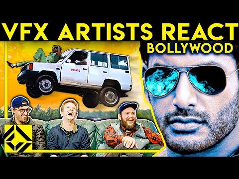 VFX Artists React to BOLLYWOOD Bad & Great CGi 2