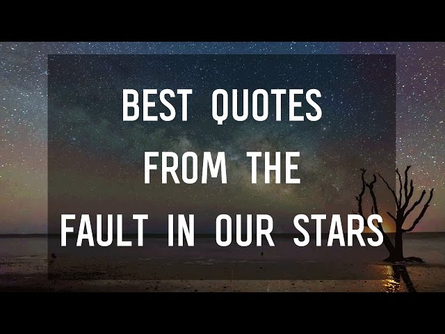Image of: Tumblr Epic Reads Beautiful Quotes From The Fault In Our Stars