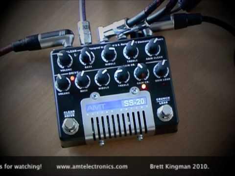 AMT Electronics: SS-20 Les Paul direct.
