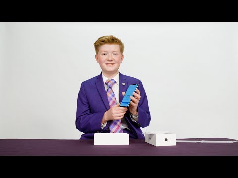 Unboxing the iPhone X with Kid App Developer Alex Knoll