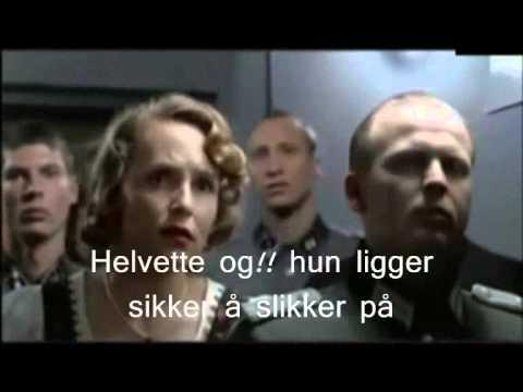 Hitler finner ut at kona er utro
