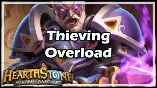 [Hearthstone] Thieving Overload