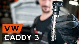 How to change ignition coil on VW CADDY 3 (2KB) [TUTORIAL AUTODOC]