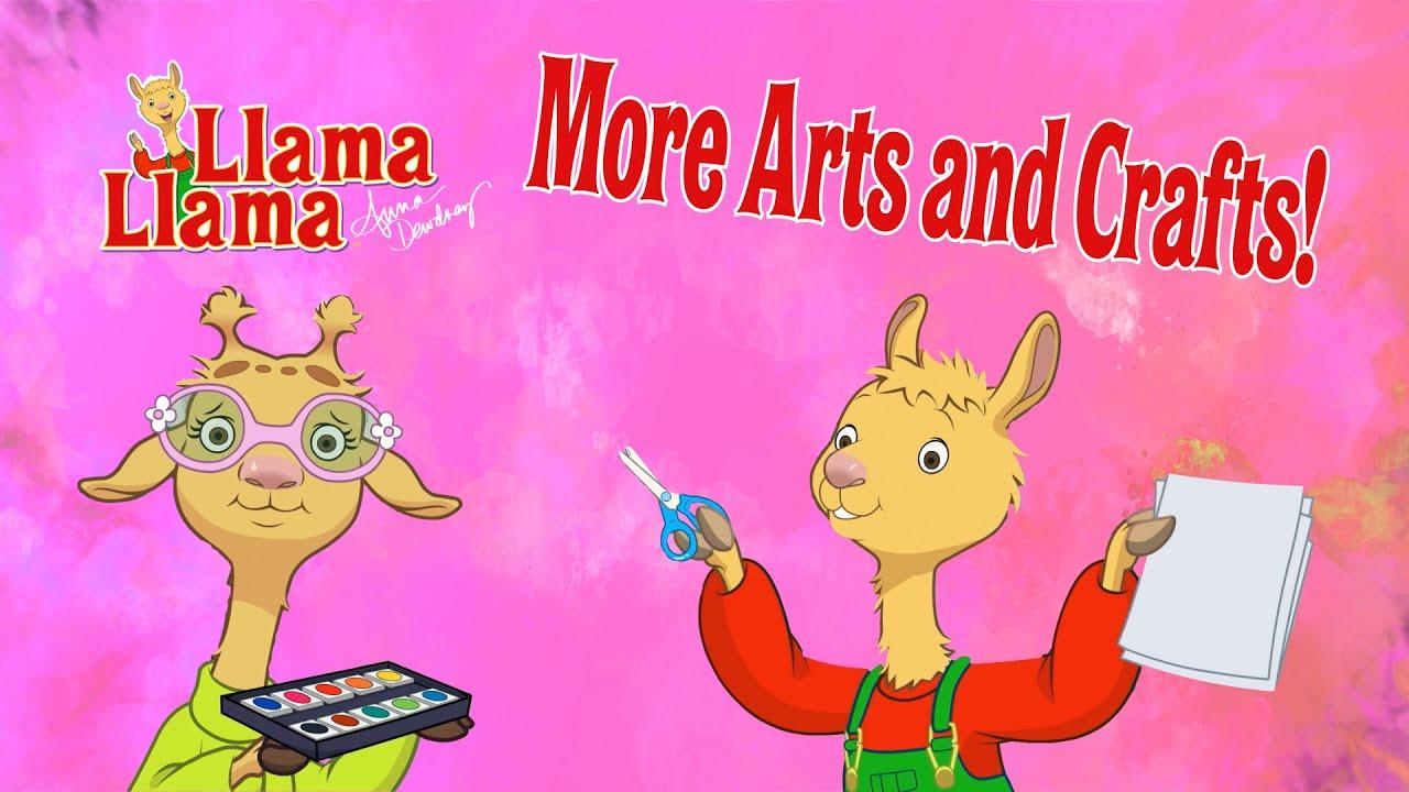 Arts and Crafts Compilation | Llama Llama