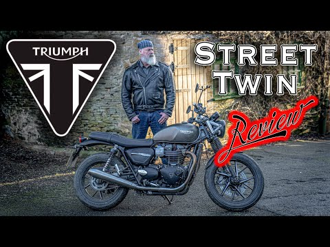 Triumph Street Twin Review! The most popular Modern Classic 900cc Bonneville Motorcycle - Tested!