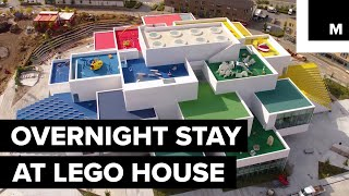 The new Lego House is inviting one lucky family to stay overnight