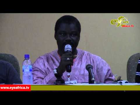PRESS CONFERENCE OF THE NEWLY ELECTED Gambia Football Federation Executive 20th Sept. 2014