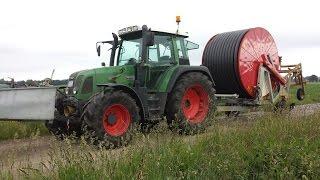Beregnungen / Bewässerung in der Landwirtschaft umstellen mit Fendt 412