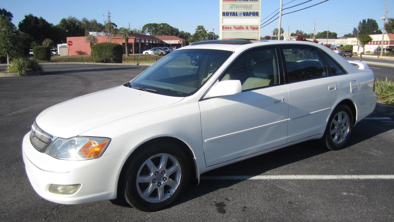 SOLD 2002 Toyota Avalon XLS Meticulous Motors Inc Florida For Sale
