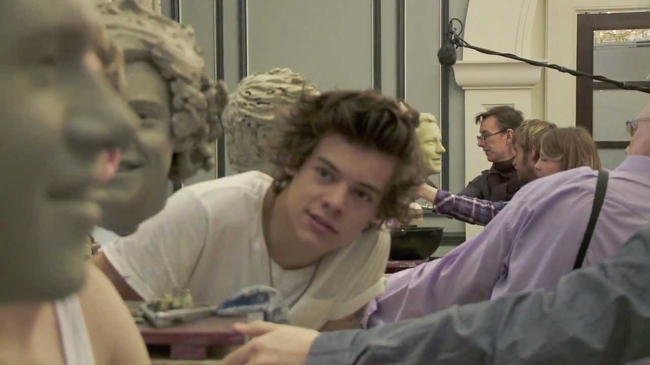 Meet One Direction wax figures at Madame Tussauds London