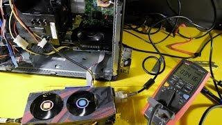 AMD R9 270x + HD7770 on DELL 745: Bitcoin Test, Watts, Benchmarks