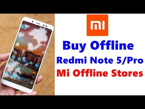 Redmi Note 5 Pro Buy From Mi Offline Stores, Without Flash Sale