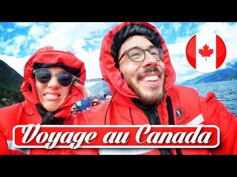 Voyage au CANADA - Kemar et Natoo