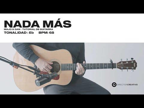 Nada Más Cover (Nothing Else, Cody Carnes) - Majo y Dan | ACORDES DIRECTOR CREATIVO
