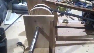 Prototype moteur électrique sur arbre d'hélice pour voilier