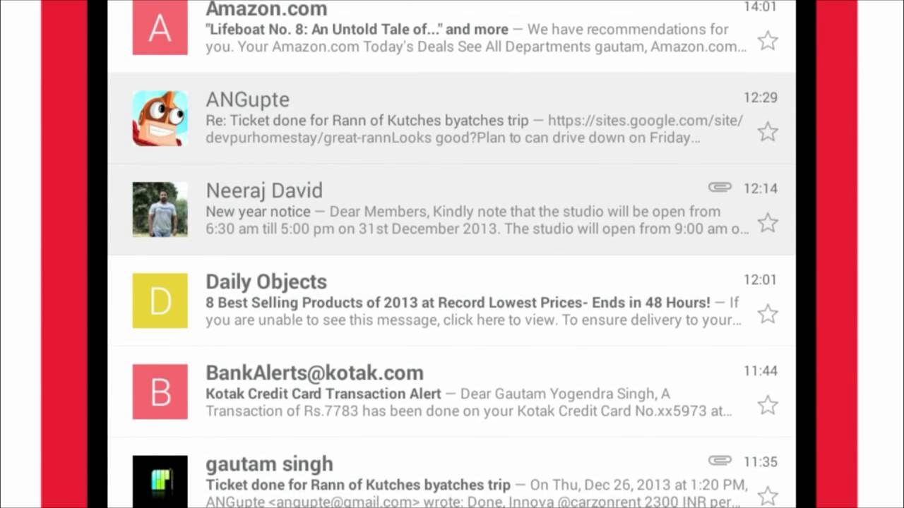 How to setup and use email on your Android smartphone (Kannada)