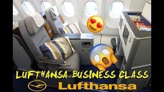 Как прошел мой полёт в Lufthansa Business class? | Business Class Flight