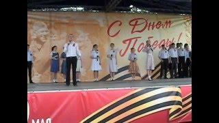 Александра Василевская и Александр Бобров . 9 мая 2016 года. Иркутское Театральное Училище. Иркутск.