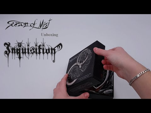 Inquisition - Bloodshed Across the Empyrean Altar (unboxing limited edition digibox with extras)
