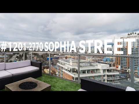 Awesome Mount Pleasant Penthouse in the Stella Building :: #1201 - 2770 Sophia St