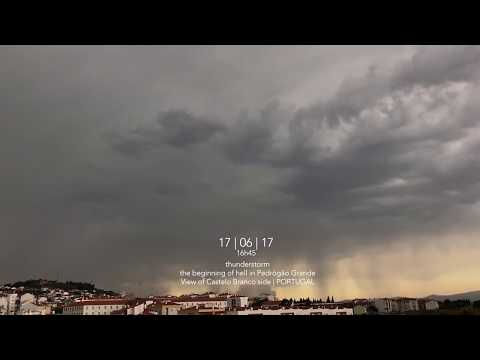 Thunderstorm | The beginning of hell in Pedrogão Grande