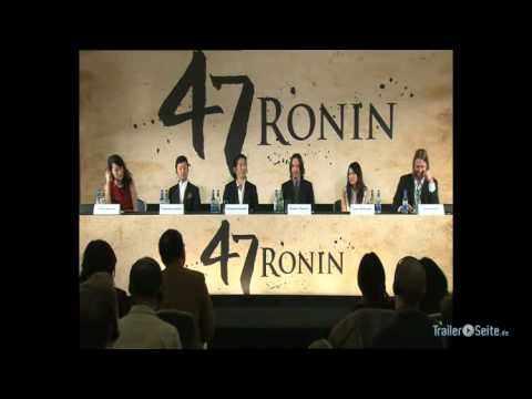 47 Ronin - Press Conference with Keanu Reeves (2012)