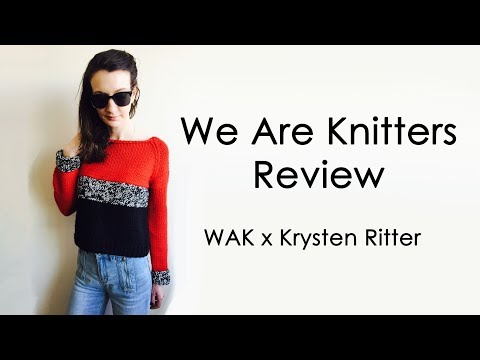 We Are Knitters Review | Krysten Ritter Best Friend Cropped Sweater
