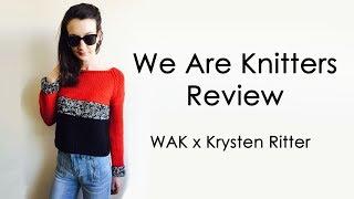 We Are Knitters Review | Krysten Ritter Best Friend Cropped Sweater