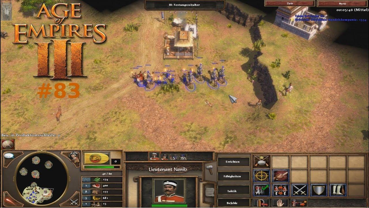 Age Of Empires 3 Staffel 1 Folge 83 Handelsposten Und Salpeter