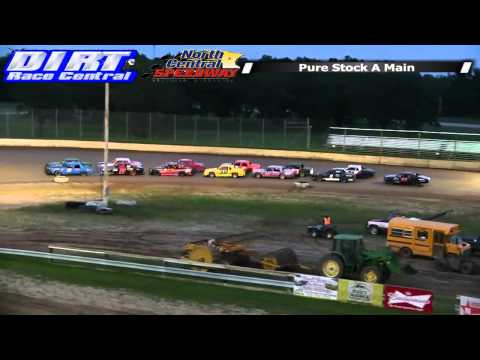 North Central Speedway 8 23 14 Pure Stock Races
