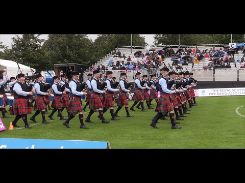 Field Marshal Montgomery Pipe Band - 2014 World Champions