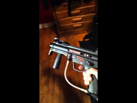 X7 Squishy Paddles : Tippmann A5 with Mods - YouTube