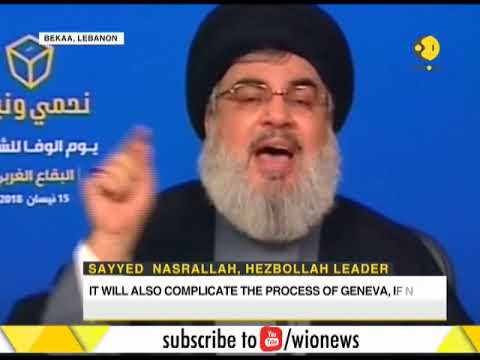Hassan Nasrallah: Syria strikes failed to serve Israel's interest